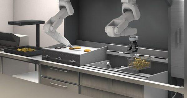 robot restaurant, ai restaurant, robot kitchen